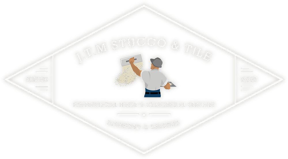 JTM Stucco & Tile Logo